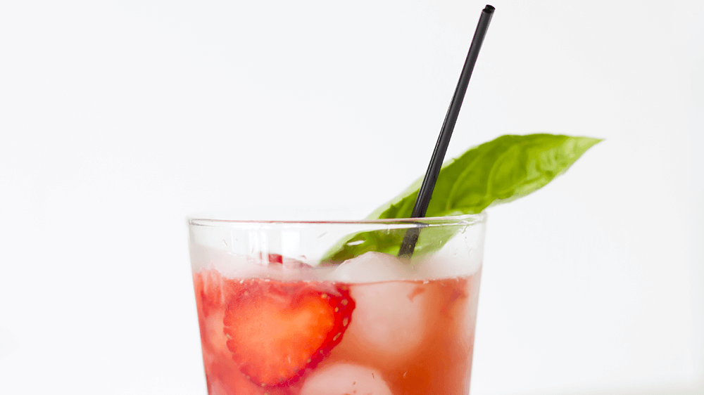 Muddled Strawberry Pomegranate Tequila Is One of My Favorite Drinks To Make When You Need Some Self-TLC. Elizabeth Sutton Collection.